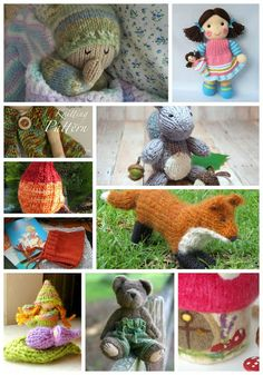 Beneath the Rowan Tree: Fall Knitting Patterns for Kids (Waldorf Inspired)