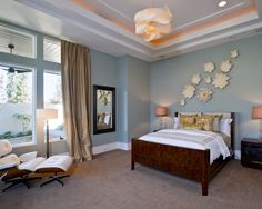 bedroom blue walls grey carpet design pictures remodel decor and ideas - Blue Bedroom Colors