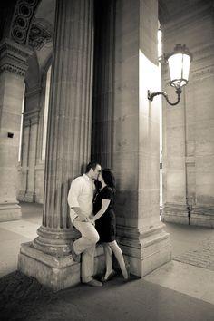 love shoot in Paris