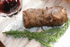 "Great Party Entree -Beef tenderloin can be served at room temperature, so the pressure of getting it to the table hot isn't an issue,"" servewith a rustic salad of greens, dried cranberries, sugared pecans, and blue cheese."