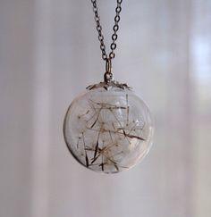 Dandilions!!! <3 secret dreams necklace