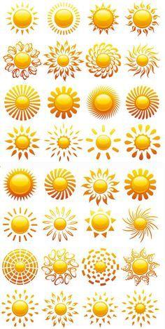 sunshine tattoo designs - Google Search