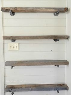 Easy Affordable Diy Wood Closet Shelves Ideas – Decorating Ideas - Home Decor Ideas and Tips Shelves, Home Projects, Wood Closet Shelves, Home Decor, Floating Shelves Diy, Home Diy, Floating Shelves Living Room, Shelving, Industrial Farmhouse Decor