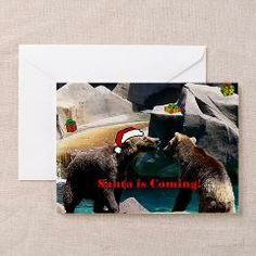Christmas Bear Greeting Cards (Pk of 10) > Christmas Cards > Marie Terry
