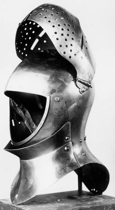 Great helmet nascinet helmet  Probably france 14th 15th centyry  Medieval armor