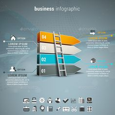 #Business #Infographic - Infographics Download here: https://graphicriver.net/item/business-infographic/12635922?ref=alena994