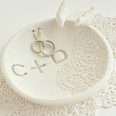 Make a ring bowl - Love this it looks so simple