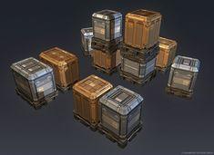 QR 3d Crates #2 by Talros.deviantart.com on @deviantART