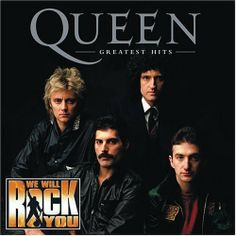 Greatest Hits: We Will Rock You Edition ~ Queen, http://www.amazon.com/dp/B0002M5U88/ref=cm_sw_r_pi_dp_8NvNsb0448F4M