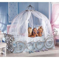Disney Princess Carriage Twin Bed  @jen Chesnut
