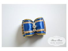 7/8 Show Bow Royal with Gold Accents  by BeautybyParis