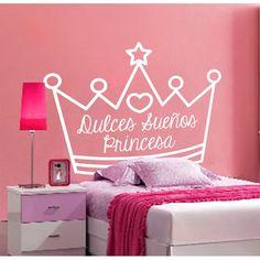 Vinilo decorativo Cabecero cama lineas