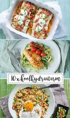 10 x low carbohydrate recipes - 10 x Low carbohydrate recipes – Great recipes - Healthy Tuna, Healthy Snacks, Healthy Eating, Healthy Recepies, Couscous, Low Carb Recipes, Great Recipes, Clean Eating, Good Food