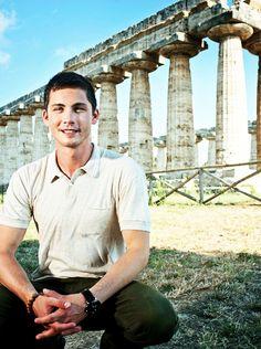 Logan Lerman Greece