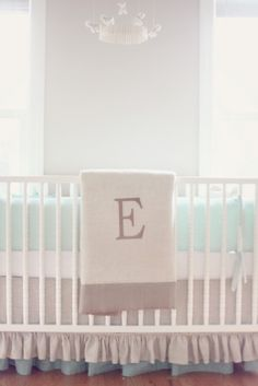 Rustic and vintage nursery with a playful and whimsical touch.