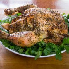 Herb Lemon Garlic Roast Chicken