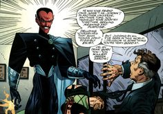 Before Geoff Johns reintroduced Sinestro as the awesome glorious bastard we know and love today, the great J.M. DeMatteis took his own stab at resurrecting and redefining the dead arch-villain in the pages of the little-read and less-loved Hal Jordan...