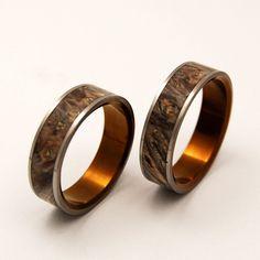 Wood Wedding Rings