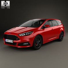 Nice Ford: 3D model of Ford Focus turnier ST 2014  Ford 3D Models Check more at http://24car.top/2017/2017/06/25/ford-3d-model-of-ford-focus-turnier-st-2014-ford-3d-models/