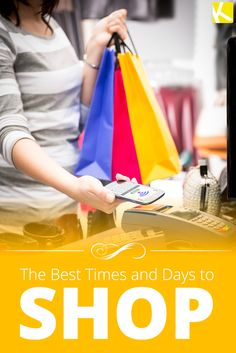 The Best and Worst Times to Go Shopping