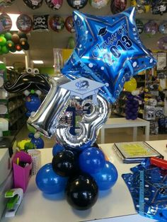 Class of 2013 Mypartywarehouse.com Graduation Balloons, Graduation Party Decor, Birthday Balloons, Small Balloons, Number Balloons, Balloon Arrangements, Balloon Centerpieces, Balloon Columns, Balloon Garland