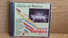 MARIACHI VARGAS. MÚSICA DE AMÉRICA. CD / PERFIL - 1990. 20 TEMAS / CALIDAD LUJO
