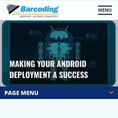 End your week with some #fridayknowledge, courtesy for @barcodinginc. The #windows to #android transition for #mobile devices doesn't have to be difficult. See why on their blog at Barcoding.com/blog. #SupplyChainGeek #scm #logistics #computing #upgrade Supply Chain, Geek Stuff, Android, Knowledge, Success, Windows, Make It Yourself, Blog, Geek Things