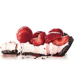 No Bake Fresh Strawberry Pie