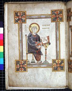 Köln, Dombibliothek, Codex 14., Evangeliar, fol. 1v