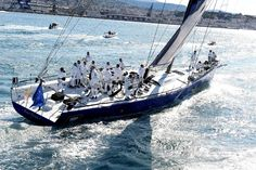 """Esimit Europa 2"" - Barcolana regatta in the Gulf of Trieste, 2011"