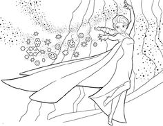 225 Best Elsa Ja Anna Images Coloring Books Coloring Pages For