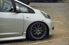 GETTINLOW | StanceOut Silver: Honda Jazz GE8 2009
