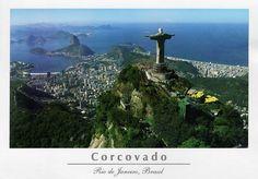 Christ the Redeemer, Corcovado, Rio de Janeiro, Brazil ( New Seven Wonders of the World )