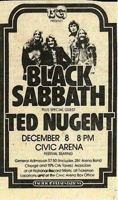 Sabbath/ Nugent '78