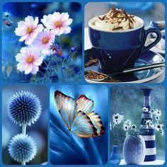 Впечатление от синего цвета