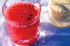 Healthy Juice Recipe Watermelon & passionfruit juice