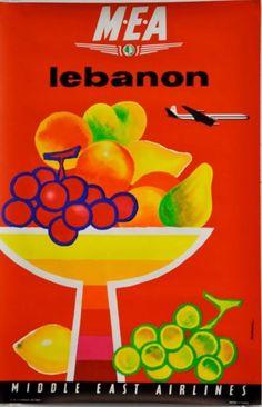 Jacques Auriac / MEA - Lebanon / ca. 1960