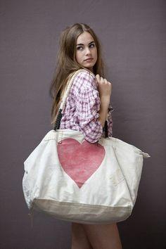 sac en toile, grand sac en tissu avec imprimé