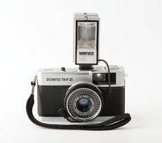 Olympus Trip 35 35mm Point & Shoot Film Camera with by Tiddalik
