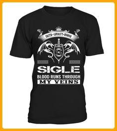 SIGLE Blood Runs Through My Veins - Shirts für singles (*Partner-Link)