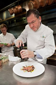 Chefs and food lovers all over the country mourn the loss of celebrity chef Charlie Trotter today. | 17 Stunning Photos Of Chef Charlie Trotter's Food