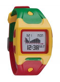 $143 Zegarek Nixon Lodown Rasta