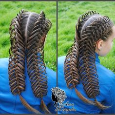 I couldn& resist posting this one, it is absolutely flawless! Baby Girl Hairstyles, Easy Hairstyles For Long Hair, Creative Hairstyles, Braids For Long Hair, Braided Hairstyles, Curly Hair Styles, Natural Hair Styles, Crazy Hair Days, Cool Braids