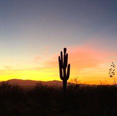 Tucson | Arizona | Sunrise | Photo via IG user @everydaybeautifulhuman