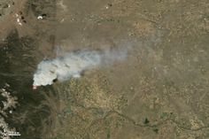 High Park Fire in Colorado: Natural-color images document the spread of fire across a dry and beetle-damaged landscape.