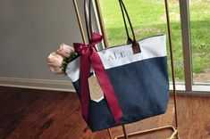 Etsy Pre-Order ONLY - Available in June: Monogram Tote Bag (QTY. Monogram Tote Bags, Personalized Tote Bags, Canvas Tote Bags, Bridesmaid Tote Bags, Bridesmaids, Vinyl Monogram, Custom Bags, Wow Products, Shopping Bag