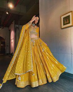 Introducing latest Bridal Lehengas Colour Palette for 2021-22 weddings. From pastel lehenga design to dark red lehenga, ,we have got amazing designs for all. #shaadisaga #indianwedding #bridallehengacolour #bridallehengacolourunique #bridallehengacolourcombinations #bridallehengacolourbest #bridallehengacolourtrending #bridallehengacolourlatest #bridallehengacolourpastel #bridallehengacolourindian #bridallehengacolourpurple #bridallehenga2021 #bridallehenga2022 #bridallehengacollection #lehenga Haldi Ceremony, Winter Bride, Bridal Lehenga, Indian Bridal, Wedding Season, Bridal Dresses, Ball Gowns, Sari, Brides