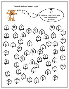 number hunt worksheet for kids (14) | Crafts and Worksheets for Preschool,Toddler and Kindergarten