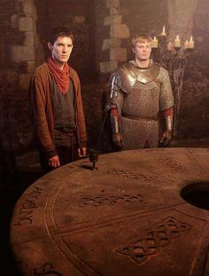 Merlin! <3 #Merlin #ColinMorgan #BradleyJames