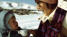 """""""Columbine Shooter's Mother: I Carry Him 'Everywhere I Go, Always'"""" -- NPR -- Sue Klebold plays in the snow with a young Dylan. """"He's like an invisible child that I carry in my arms everywhere I go, always,"""" she says."""